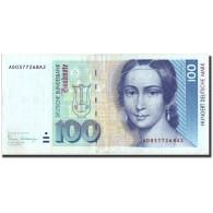 République Fédérale Allemande, 100 Deutsche Mark, 1989, KM:41a, 1989-01-02 - [ 7] 1949-… : RFA - Rep. Fed. Tedesca