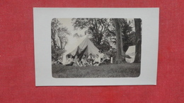 RPPC   Camping    To ID Location   Ref 2642 - Postcards