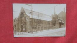RPPC  Church    To ID Location   Ref 2642 - Postcards