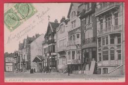 Westende - La Digue ( Partie Centrale ) - 1904 ( Voir Verso ) - Westende
