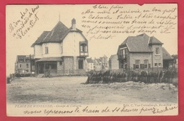 Westende - Groupe De Cottages - 1904 ( Voir Verso ) - Westende