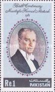 PAKISTAN MNH** STAMPS , 1981 The 100th Anniversary Of The Birth Of Kemal Ataturk, 1881-1938 - Pakistan
