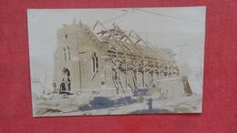 RPPC  Church Under Construction  To ID Location Ref 2642 - Postcards
