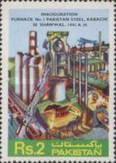 PAKISTAN MNH** STAMPS , 1981 Inauguration Of Furnace No. 1 Of Pakistan Steel - Pakistan