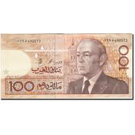 Maroc, 100 Dirhams, 1987-1991, KM:65c, 1987, TTB - Marocco