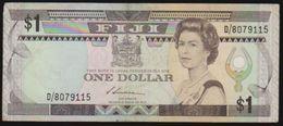 FIJI 1987 QEII ONE DOLLAR NOTE IN A CRISP COLLECTIBLE GRADE.. - Figi