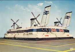 AEROGLISSEUR--HOVERCRAFT SR N 4--boulougne-le Portel-douvres--voir 2 Scans - Hovercrafts