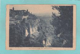 Old Postcard Of Le Cascatelle Dal Belvedere,Tivoli,Latium, Italy,Y32. - Tivoli