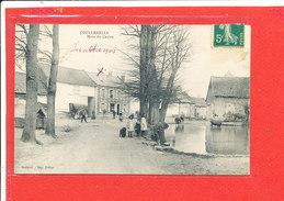 80 COULLEMELLE Cpa Animée Mare Du Centre            Edit Peltier - France