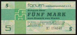 1979 GDR FUNF MARK NOTE IN A. CRISP HIGH GRADE - [ 6] 1949-1990 : RDA - Rep. Dem. Tedesca