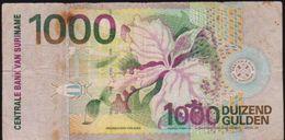 SURINAM 1000 DUIZEND GULDEN NOTE IN A. CRISP HIGH GRADE - Suriname