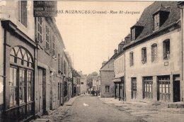 V11457 Cpa 23 Auzances -  Rue St Jacques - Auzances