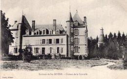 """V11462 Cpa 18 Environs De Ste Sévère - Chateau De La Courcelle """" St Priest La Marche"""" - Non Classés"""