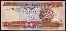 SOLOMON ISLANDS TWENTY DOLLARS NOTE IN A CRISP HIGH GRADE - Isola Salomon