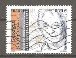 FRANCE 2016 / YT 5034 GEORGES CHARPAK OBL - France