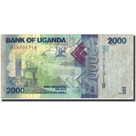 Uganda, 2000 Shillings, 2010, KM:50, 2010, TB - Uganda