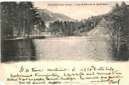 CPA N°2929 - LOT DE 2 CARTES DE THORENC - LAC ET PARC DE LA QUATRIEME - Andere Gemeenten