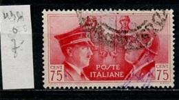 Italie 1941 Y&T N°436 Oblitéré - Used - Gestempelt - 1900-44 Victor Emmanuel III