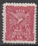 YUGOSLAVIA      SCOTT NO.2L39    MINT HINGED     YEAR  1919 - 1919-1929 Regno Dei Serbi, Croati E Sloveni