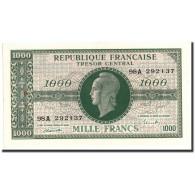 France, 1000 Francs, 1943-1945 Marianne, 1945, Undated (1945), KM:107, SUP - Trésor