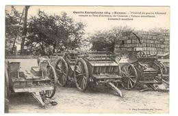 35 ILLE ET VILAINE - RENNES Matériel De Guerre Allemand Ramené Au Parc D'artillerie De L'Arsenal - Rennes