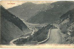 CPA N°2934 - LES ALPES - VALLEE DE L' UBAYETTE - ROUTE D' ITALIE ET FORT TOURNOUX - Autres Communes