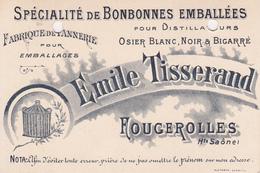Fougerolles  (hte Saône) - Cartes De Visite