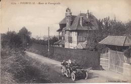 CPA POURVILLE ROUTE DE VARENGEVILLE - France