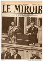 Journal LE MIROIR (1914:1918) N°169 DU 18/02/1917  UNE HEURE HISTORIQUE M.WILSON ANNONCE LA RUPTURE AVEC L'ALLEMAGNE - Giornali