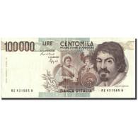 Italie, 100,000 Lire, 1983, KM:110b, 1983, TTB+ - [ 2] 1946-… : Repubblica
