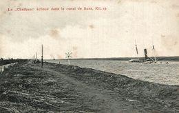 EGYPTE  LE CHATHAM ECHOUE DANS LE CANAL DE SUEZ - Suez