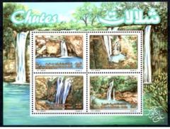 ALGERIE ALGERIA 2017 1BF Sheet MNH ** Chutes Cascades Wasserfälle Eau Water Wasser Tourisme Tourism - Agriculture