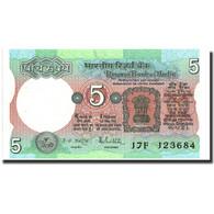 India, 5 Rupees, Undated (1975), KM:80m, SPL - Inde