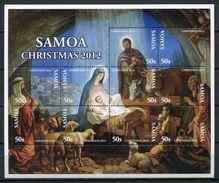 Samoa 2012 / Christmas MNH Navidad Nöel Weihnachten / Cu4425  40 - Navidad