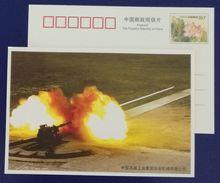 Antitank Gun Range Test,China 2008 China Weaponry Industry Group Hua'an Machinery Company Adverti Pre-stamped Card - Militaria