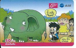 BD éléphant Elephant Animal Carte Prépayée  Karte (S.369) - Thaïlande