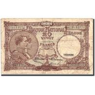 Belgique, 20 Francs, 1947, KM:111, 1947-06-07, TB - [ 6] Treasury