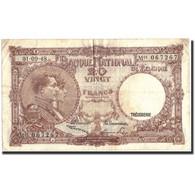 Belgique, 20 Francs, 1946, KM:116, 1946-09-01, TB - [ 6] Treasury
