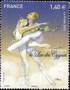 France Culture N° 5084 ** Fête Du Timbre - La Danse, Ballet Du Lac Des Cygnes - Dance
