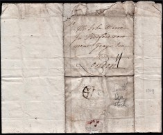 """1719 'South Sea Bubble' Letter From """"Geo.Moore, Little Appleby"""" To Brother """"John Moore, Bedford Row, London.   Ref 0369 - Autographs"""