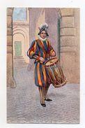 Vaticano - Tamburino Svizzero - Non Viaggiata - (FDC5189) - Uniformi