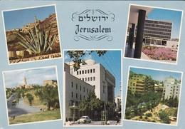 ISRAEL---JERUSALEM--multivues---voir 2 Scans - Israel