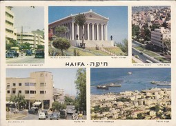 ISRAEL---HAIFA--multivues---voir 2 Scans - Israel