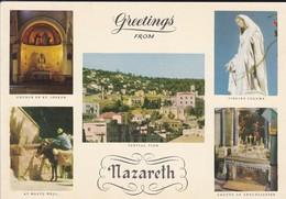 ISRAEL---NAZARETH--multivues---voir 2 Scans - Israel