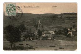 42 Tarentaize Cpa Cachet Planfoy 1907 - Other Municipalities