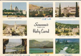 ISRAEL---HOLY LAND--multivues---voir 2 Scans - Israel
