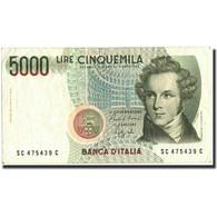 Italie, 5000 Lire, 1985, KM:111b, 1985, TB - [ 2] 1946-… : Républic