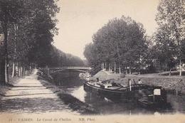 CPA VAIRES LE CANAL DE CHELLES - Vaires Sur Marne