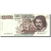 Italie, 100,000 Lire, 1983, KM:110b, 1983, SUP - [ 2] 1946-… : Repubblica