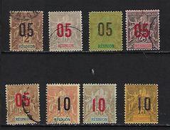 """Reunion YT 72 à 79 """" Série Complète """" 1912 Oblitérés - Réunion (1852-1975)"""